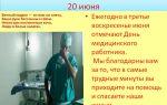 19 июня празднуется день медицинского работника – все о зрении