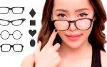 Очки для круглого лица – все о зрении