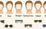 Как подобрать очки по форме лица мужчине — все о зрении